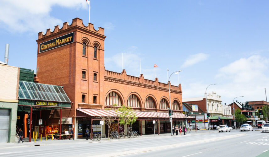 Adelaide Central Market. Adelaide, South Australia, Itinerary. Cultural Attractions of Australia.
