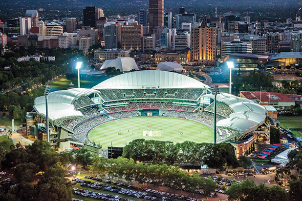 While the doors are closed – Adelaide Oval