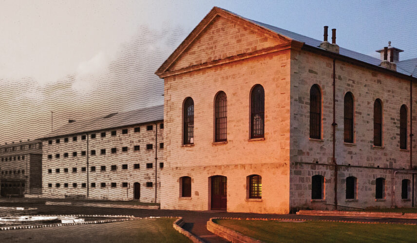 Fremantle Prison. Perth and Albany, Western Australia. Cultural Attractions of Australia.