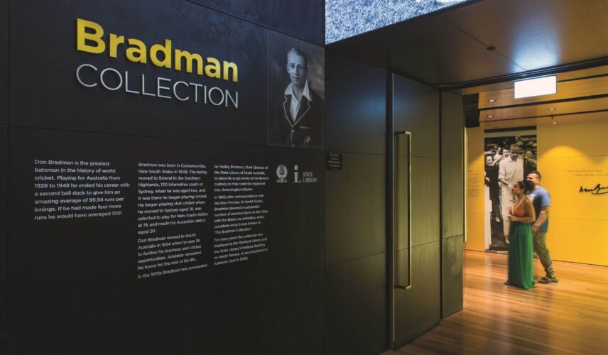 Cultural Attractions of Australia Adelaide Oval Bradman Collection 1