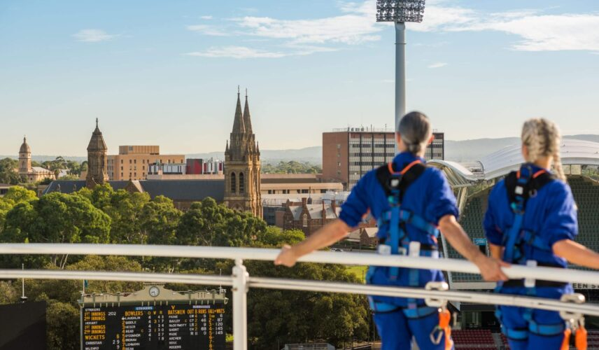 Cultural Attractions of Australia Adelaide Oval RoofClimb experience