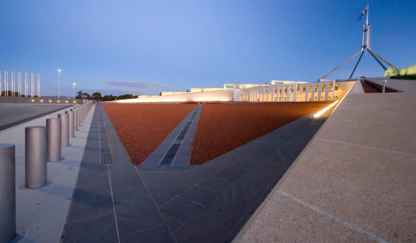 More than Politics. Parliament House, Canberra. Cultural Attractions of Australia.
