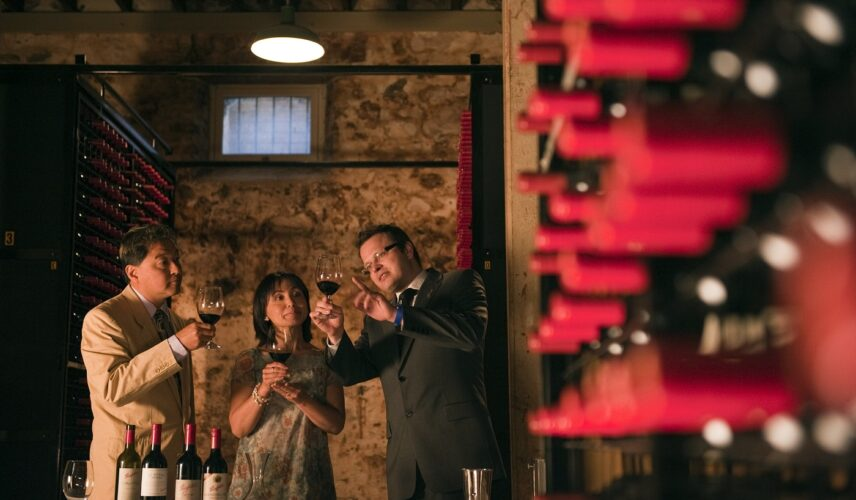 Wine Tasting at Penfolds Magill Estate. Adelaide, South Australia, Itinerary. Cultural Attractions of Australia.