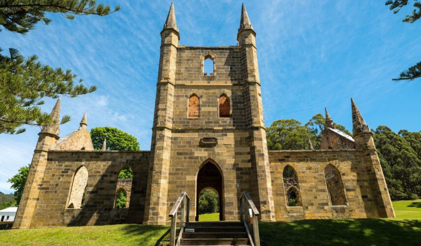 Cultural Attractions of Australia Port Arthur Historic Site Church Wheel of Fate Experience