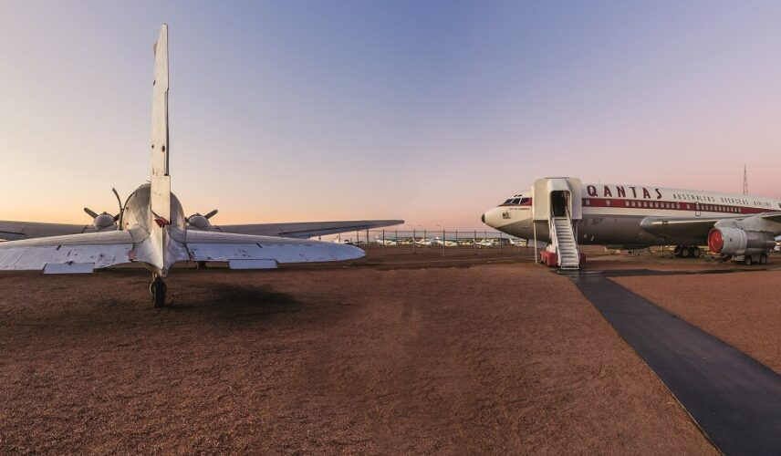 Qantas Founders Museum. Longreach, Queensland. Cultural Attractions of Australia.