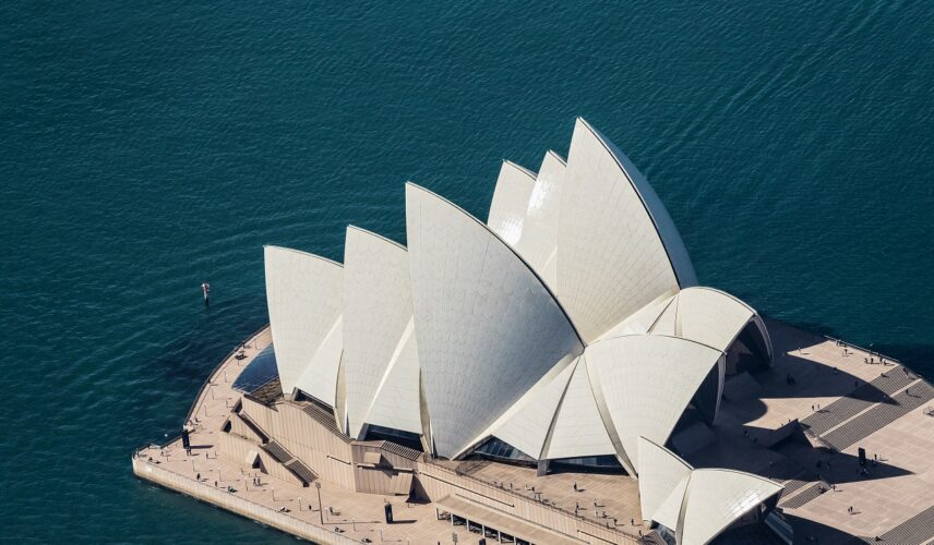 Sydney Opera House. Cultural Attractions of Australia.