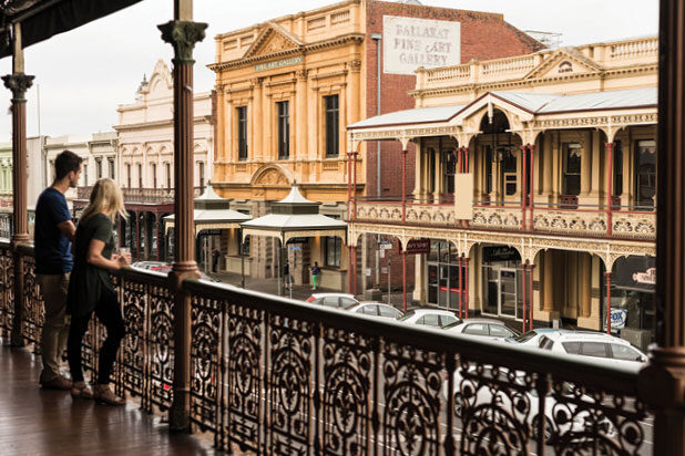 Thumbnail. Ballarat, Victoria. Cultural Attractions of Australia.