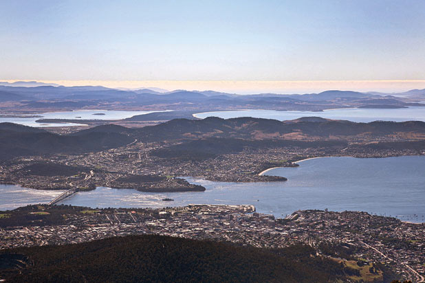 Hobart and the Tasman Peninsula, Tasmania. Cultural Attractions of Australia.