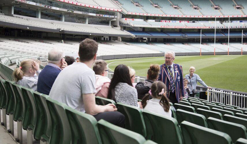 Melbourne Cricket Ground. Melbourne, Victoria. Cultural Attractions of Australia.