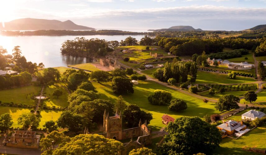 Port Arthur Historic Site. Hobart and the Tasman Peninsula, Tasmania. Cultural Attractions of Australia.