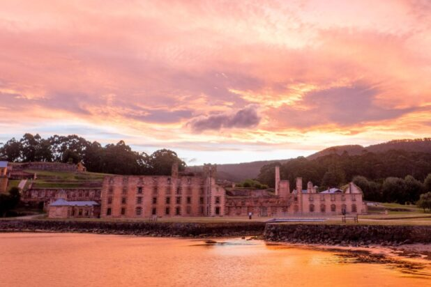 Port Arthur sunset 2017 credit Alastair Bett cropped and optimised