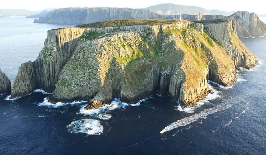Tasman Island Cruise - Tasman Island. Hobart and the Tasman Peninsula, Tasmania. Cultural Attractions of Australia.