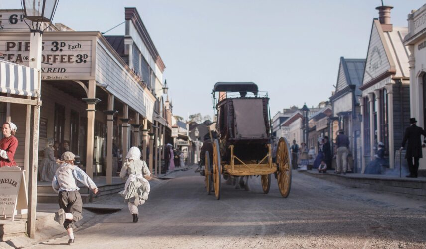 Sovereign Hill, Ballarat, Victoria. Cultural Attractions of Australia.