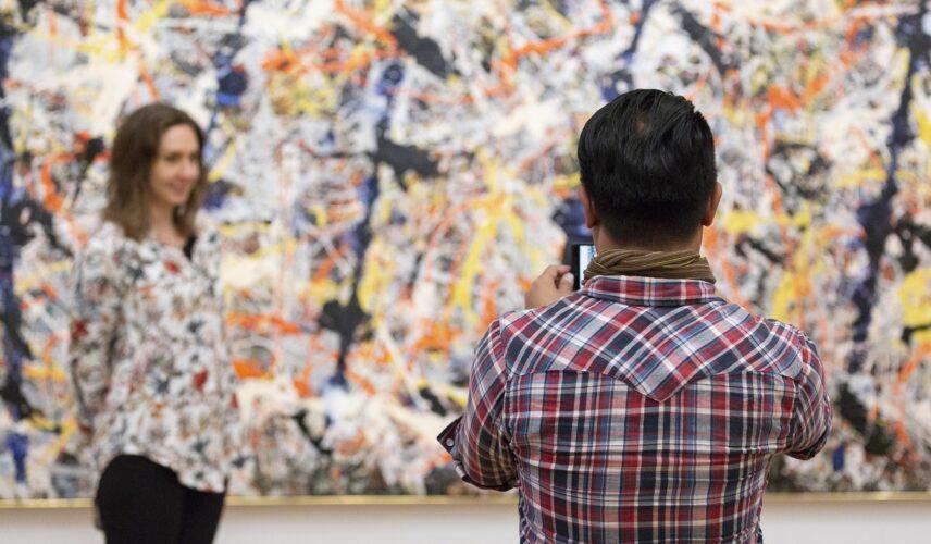 Jackson Pollock, Blue poles 1951-52, Pollock Krasner Foundation