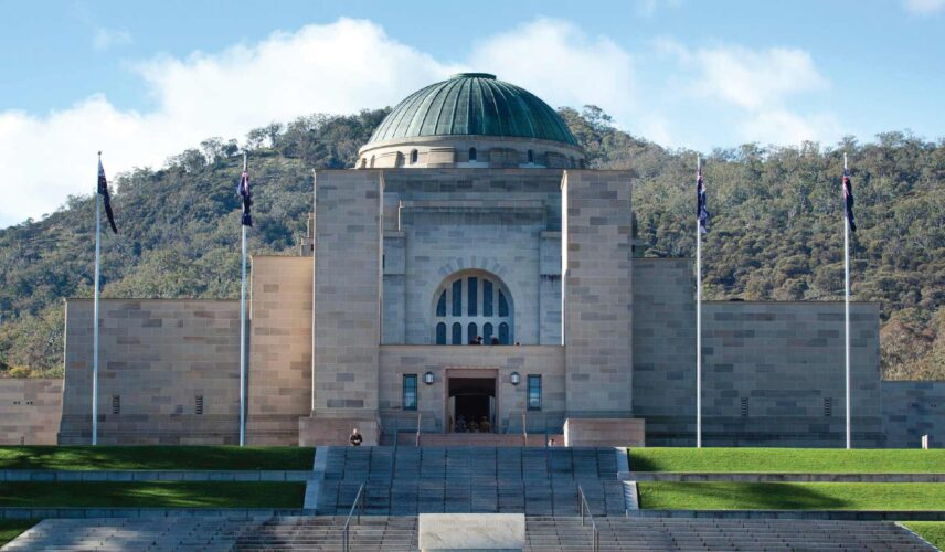The Soul of the Nation. Australian War Memorial, Canberra. Cultural Attractions of Australia.