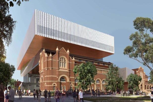 New Museum for WA view from James Street (c) WA Museum, image courtesy Multiplex, HASSELL+OMA REDUCED