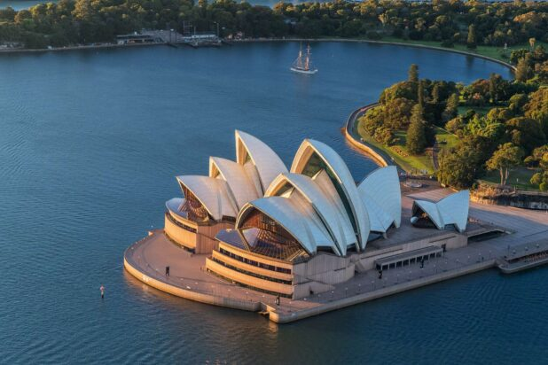 Sydney Opera House, NSW. Cultural Attractions of Australia.