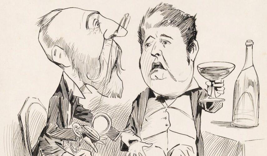 Mr Barton 'Remarked', 1900 by Livingstop Hopkins - slight crop for website