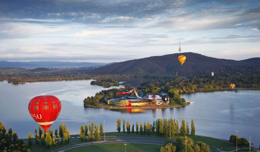 National Museum of Australia, Canberra. Cultural Attractions of Australia