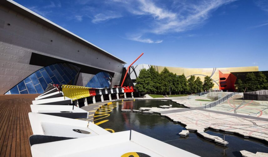 National Museum of Australia, Canberra. Cultural Attractions of Australia.