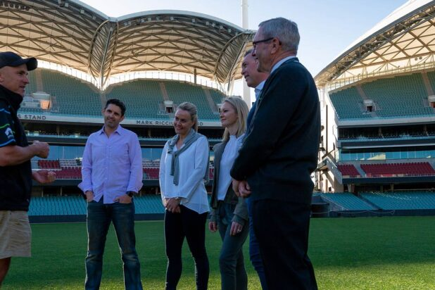 Adelaide Oval Legends Tour