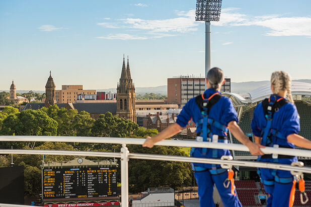 Wonders of Adelaide RoofClimb Experience
