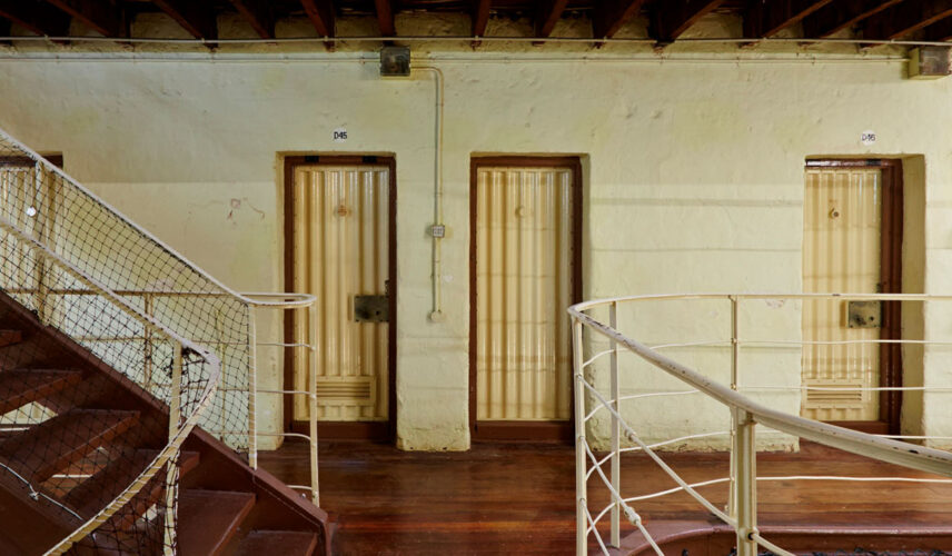 Convict Prison Tour. Fremantle Prison, WA. Cultural Attractions of Australia.