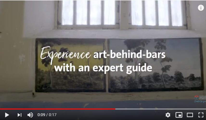 Fremantle Prison Art Experience Video Still