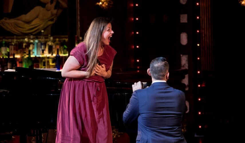A Not So Modest Proposal: Pop the Question at the Opera. Opera Australia, Sydney. Cultural Attractions of Australia.