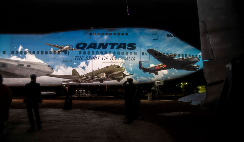 Qantas Founders Museum Luminescent Longreach Light and Sound Experience