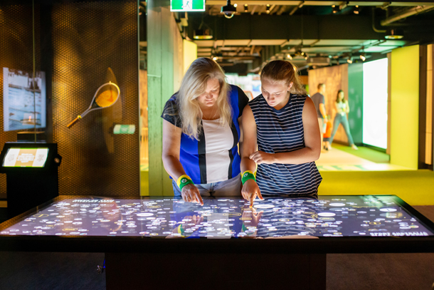 Experience the action at the Australian Sports Museum