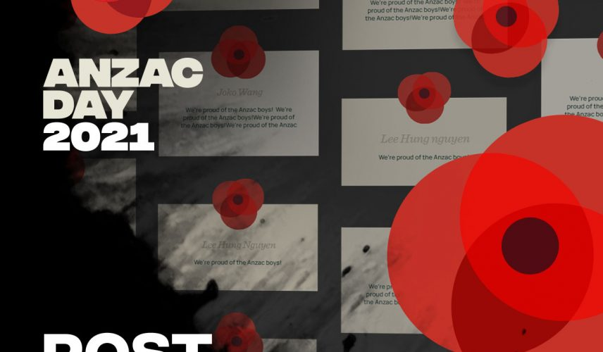 Anzac Day 2021 Post A Virtual Poppy