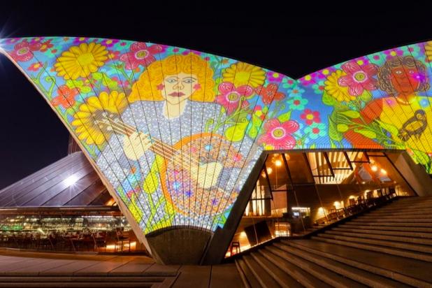 Badu Gili: Wonder Women daily lighting of Opera House sails